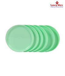 Green Full Round Plate