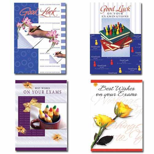 Good luck cards for exam occasional greeting card eidgah road good luck cards for exam m4hsunfo