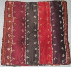 Antique Square Floor Cushion Cover