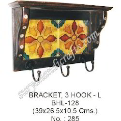Wooden Bracket Hook