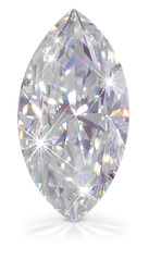 Marquise Cut Moissanite Diamond