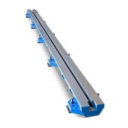 T-Slotted Floor Clamping Rails And Floor Skid