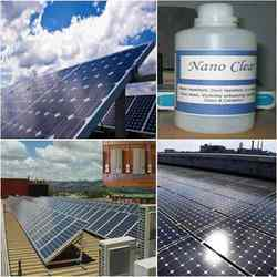 Solar Panel Glass Coating Solution