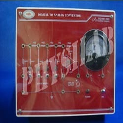 Physilab Digital To Analog Converter Using R-2r Network, For Laboratory, Packaging Type: Box