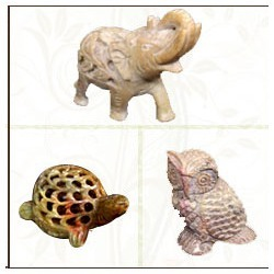 Soapstone Animal Statues