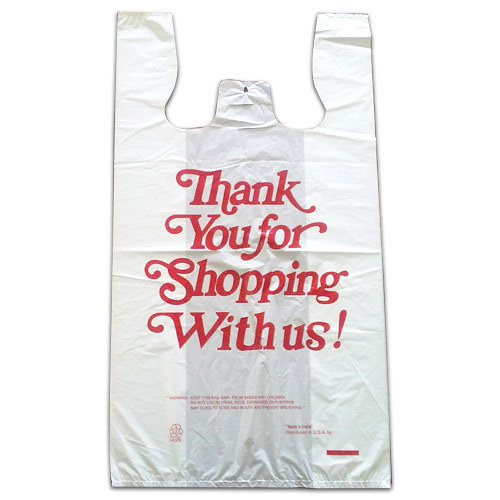 White Or Multi Color T-Shirt Type Plastic Carry Bags, Bag Size (Inches): 10 X 15 Inches - 30 X 40 Inches