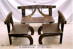 Bari Antique Wooden Chairs
