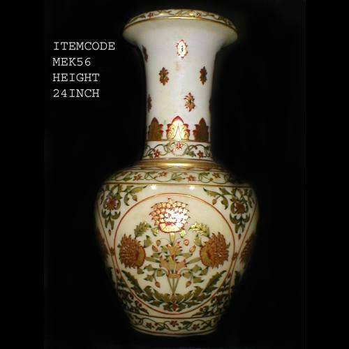 Long Neck Marble Vases Height225 Mm Rs 7000 Piece Malvia