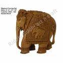 Sandalwood Carved Elephant