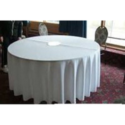 White Cotton Table Linen