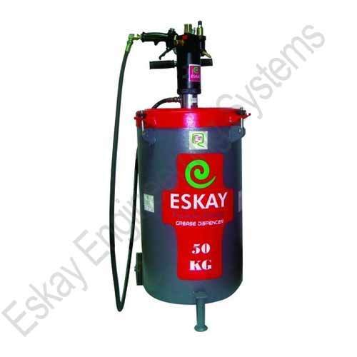 Pneumatically Operated Grease Pump 50kg