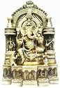 Brass Ganesh Ji Statue