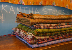 Handmade Kantha Stoles