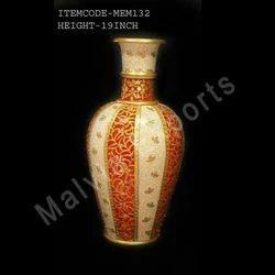 Floral Marble Vases