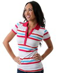 Women's Yarn Dyed Stripe T-Shirt