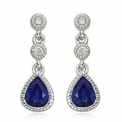 Sapphire Earring
