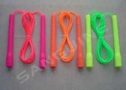 Liquorice skipping rope.