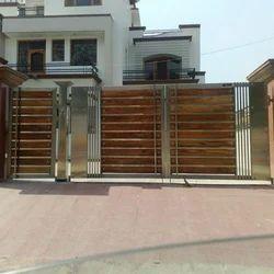 Designer Steel Gate Steel Gates Industrial Area Panchkula Shiv