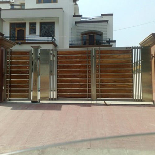 Designer Steel Gate, Steel Gates | Industrial Area, Panchkula ...