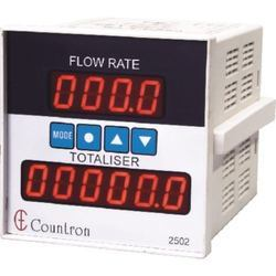 Flow Rate Indicator Cum Totalizer