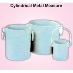 Cylindrical Metal Measure