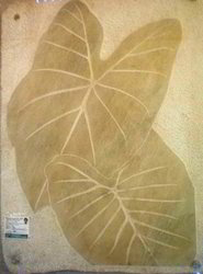 Twin Leaf Mural