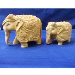 Wooden Fine Carved Elephant