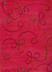 Embroidered Handmade Papers For Wedding Invites