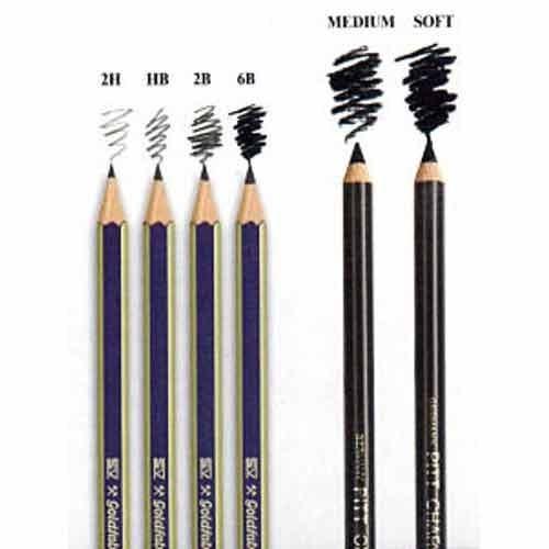 Shading pencils