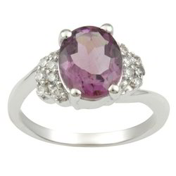 Stylish Amethyst Ring For Girls