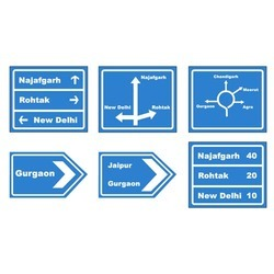 Informatory Directional Signs