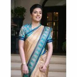 Hotel Receptionist Uniform Saree
