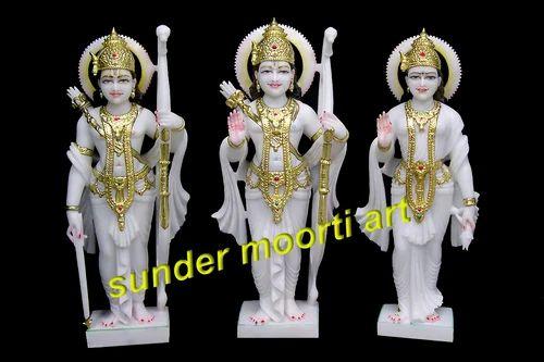 Marble Ram Darbar Statues Marble Ram Darbar Idol