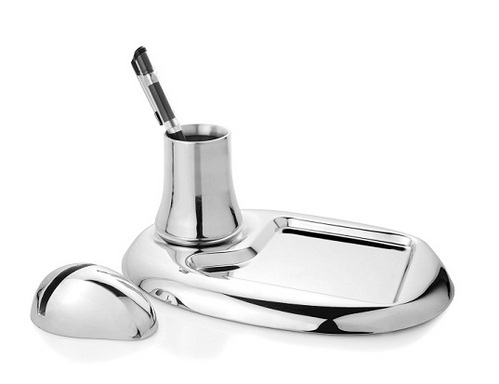 Stainless Steel Designer Office Accessories For Corporate Gifting