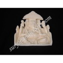 Bone Singhasan Ganesha