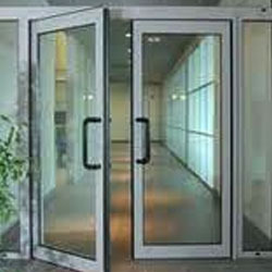 Aluminum Amp Glass Products Aluminium Partition Doors