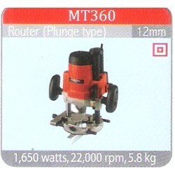 Router (Plunge Type ) MT360