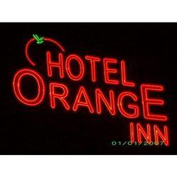 Hotel Neon Sign Board
