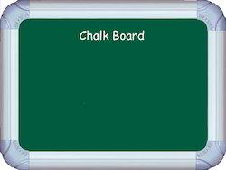 Deluxe Magnetic Chalk board