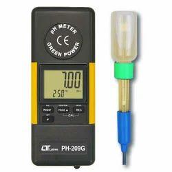Digital Green Power PH Meter Lutron PH-209G