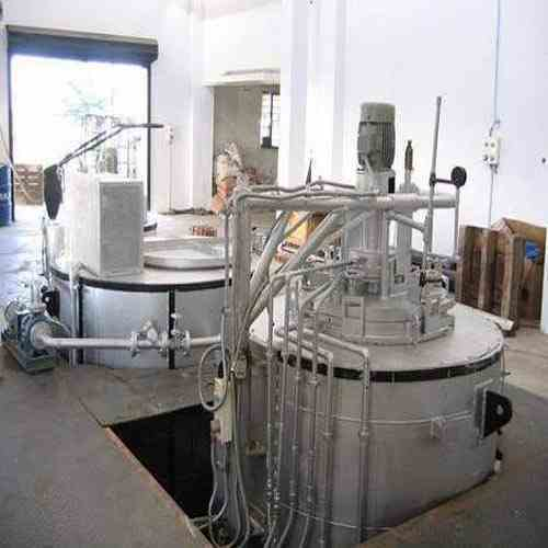 Pit Type Gas Carburizing Furnace Material Loading