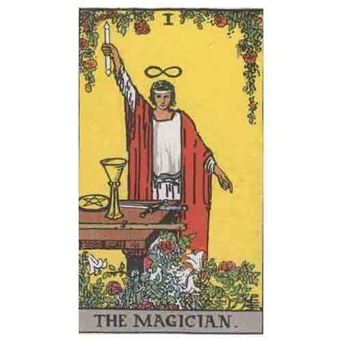 The Magician Tarot Cards - View Specifications & Details of Tarot