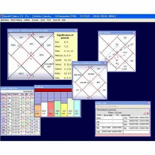 Aryabhatt Astrology Software | Bhavishya Darshan Co  | Retailer in