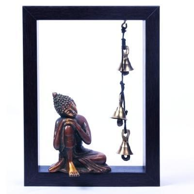 Brass And Wood Buddha - View Specifications & Details of Wooden ...