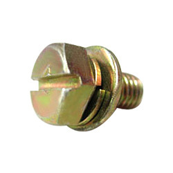 Bolt With Integrated Spring & Plain Washer
