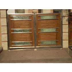 Fancy Gate Wooden Mix S F International Manufacturer In Loni
