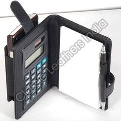 Leather Calculator Holder