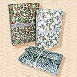 Floral Print Notebook