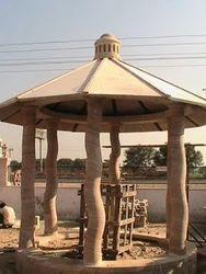 Outdoor Sandstone Gazebo
