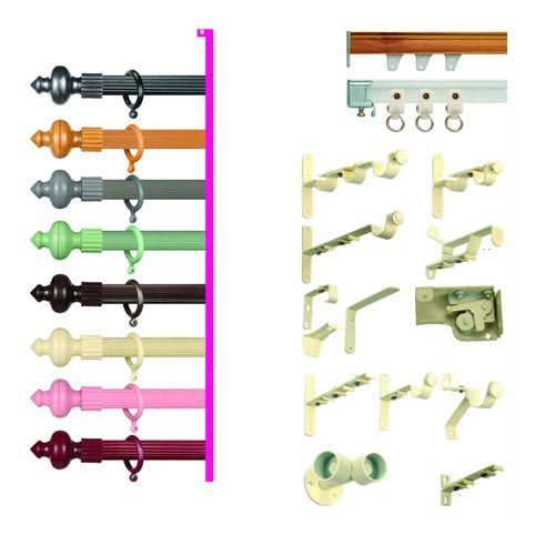 Curtains Ideas curtain rod accessories : Curtain Rods Manufacturer from Bahadurgarh